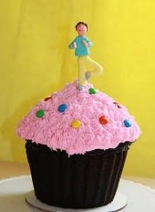 yoga cupcake