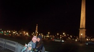 Me & alex in front of the eiffel tower